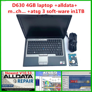 Image 1 - 2020 Auto software alldata m..ch.. on d..mand 2015 with ATSG hard disk 1TB installed on D630 4gb laptop for car truck diagnostic