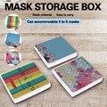 Модный складной контейнер для хранения маски, сумка для хранения маски, маски для лица, чехол для хранения маски