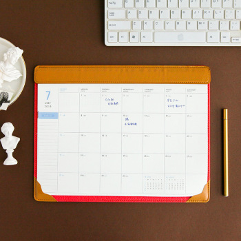 2020 Year Creative PU Desktop Calendar A4 Office Desk Mat Table  Calendar Daily Schedule Planner 2019.08~2020.12
