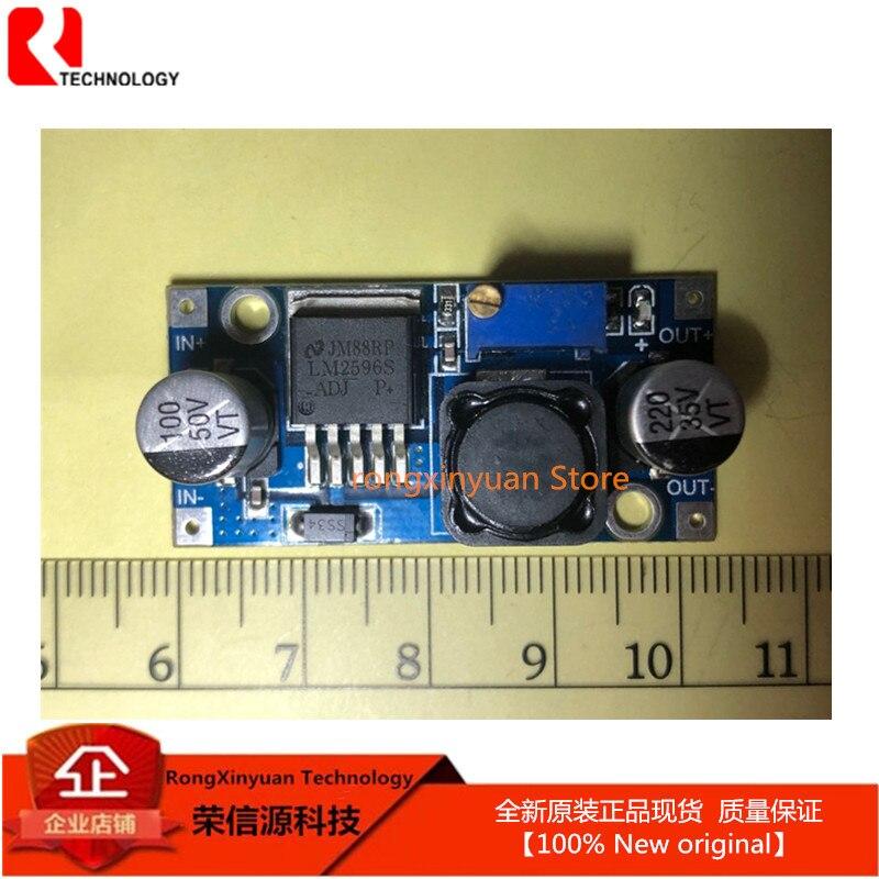 1 шт., модуль регулятора постоянного тока LM2596 LM2596S, 3 А, вход 4-35 в, выход 1,23-30 в, модуль понижающего блока питания постоянного тока