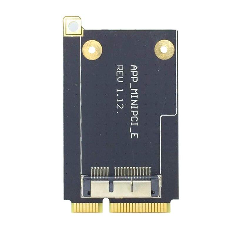 Mini PCI-E Express Adapter Converter 52-Pin Mini PCI-E Card For Broadcom BCM94360CD BCM943602CS BCM94360CS2 BCM94331CD BCM943224