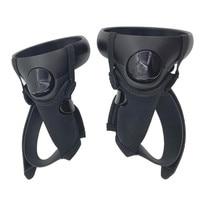 VR コントローラアキュラスのためのクエスト/リフト S VR タッチコントローラーグリップハンドル耐衝撃アクセサリー