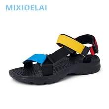 Men Sandals Flip-Flops Water-Shoes Beach-Slippers Non-Slip Outdoor Summer High-Quality