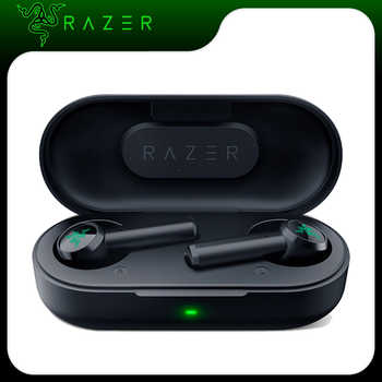 【RU Stock】Razer Hammerhead TWS Bluetooth 5.0 Earphones Wireless Earbuds for Game Sport with IPX4 Touch Control Gaming Earphone