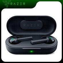 【Ru Stock】razer Hammerhead Tws Bluetooth 5.0 Koptelefoon Draadloze Oordopjes Voor Game Sport Met IPX4 Touch Control Gaming Oortelefoon