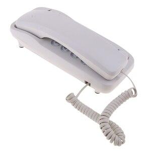 Image 2 - Tragbare Hängen Corded Telefon Hause Wand Linie Telefon Büro Business