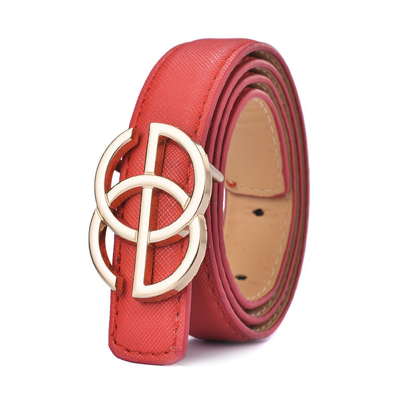 New Designer Kids Belt Strap Hight Quality Luxury Brand Fashion Pu Leather Children Belt Boys/girls Buckle Pants Belts Pants