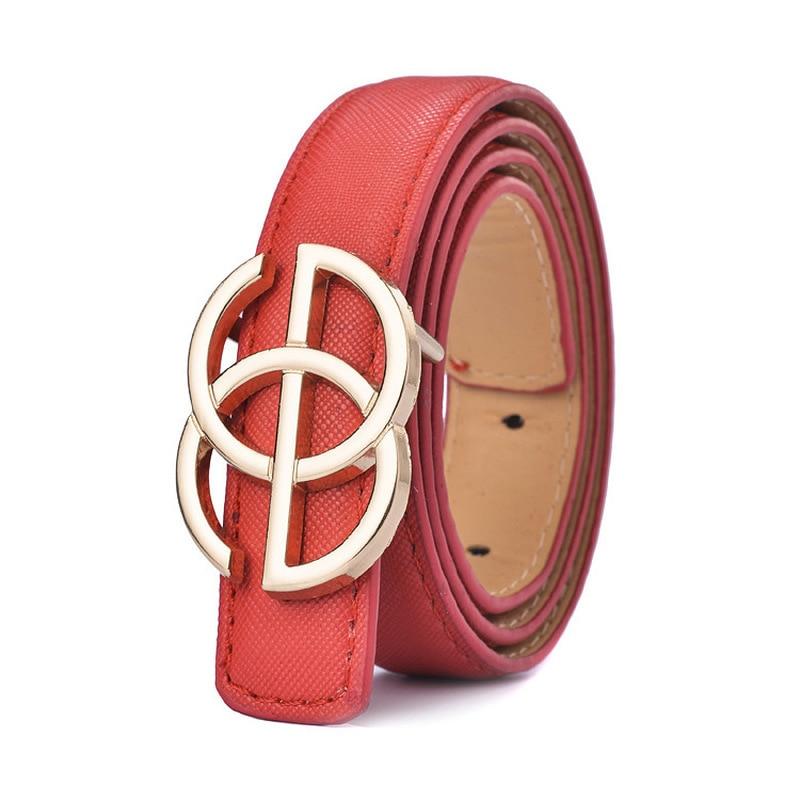New Designer Kids Belt Strap Hight Quality Luxury Brand Fashion Pu Leather Children Belt Boys/girls Buckle Pants Belts Pants
