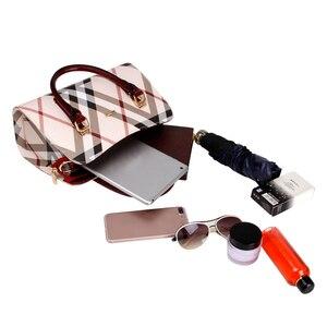 Image 3 - Tasche frauen Vintage PVC Leder England Stil Weibliche Handtasche Mode Kette Bolsa Feminina Casual Outdoor Frauen Taschen 2020