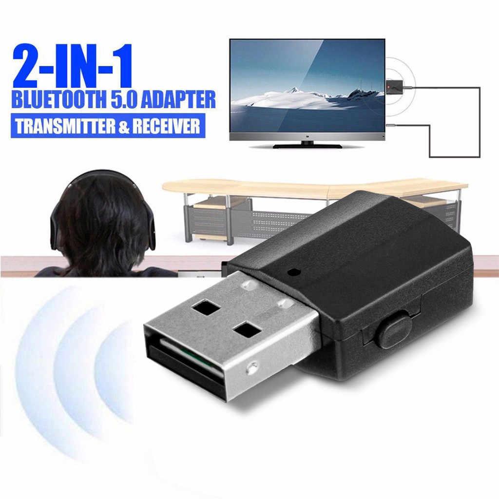 Meilleure vente 2020 produits USB Bluetooth récepteur 3.5 Audio émetteur adaptateur pour TV/PC casque haut-parleur livraison directe du fournisseur