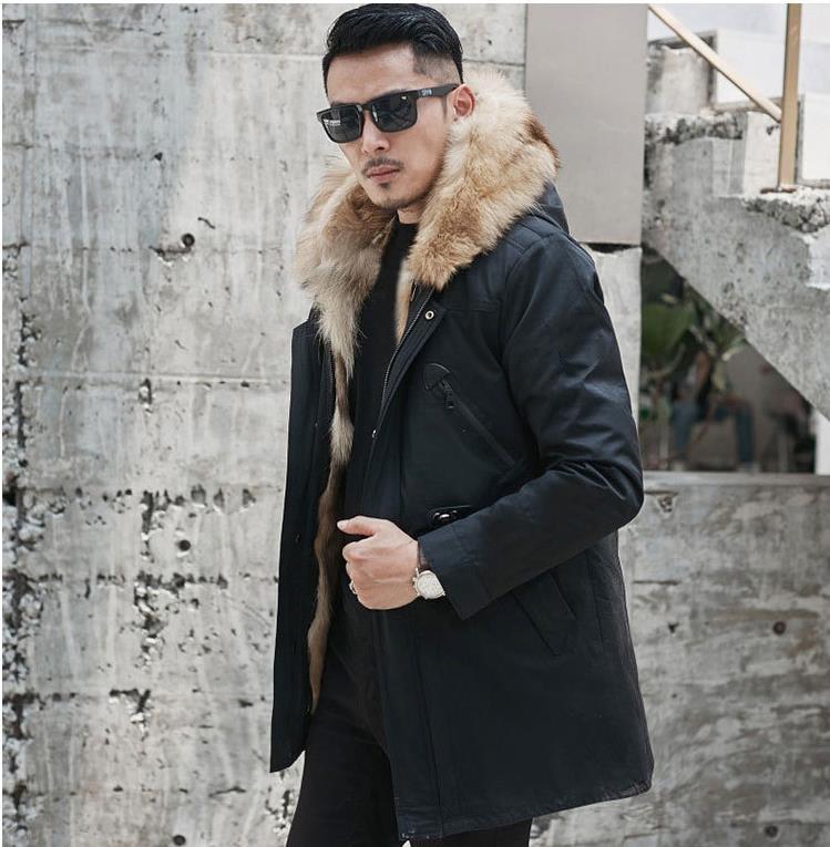 H3db99bf4a51e4e0ebc0e1c92c8d1a7c9j Batmo winter wolf fur liner hooded jacket men, winter warm parkas men plus-size L-5XL