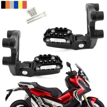 Artudatech Folding Footrests Foot Pegs Rear Pedals Motorcycle For Honda X-ADV 750 2017 2018 XADV X ADV Accessories