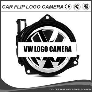 Автомобильная камера с логотипом и эмблемой для VW, камера с логотипом для Volkswagen PASSAT CC B6 B7 B8 Golf MK7 MK6 POLO, камера заднего вида