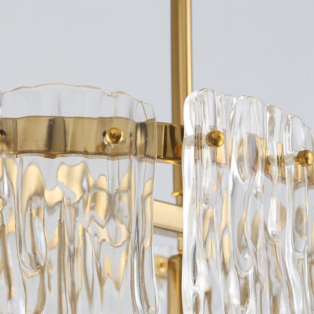 lustre led lâmpada ac110v 220v iluminação moderna