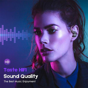 Image 3 - TWS Wireless Bluetooth 5.0 Earphone Running HiFi Stereo Headphones Sports Headset With Mic For IOS Android Mobiles