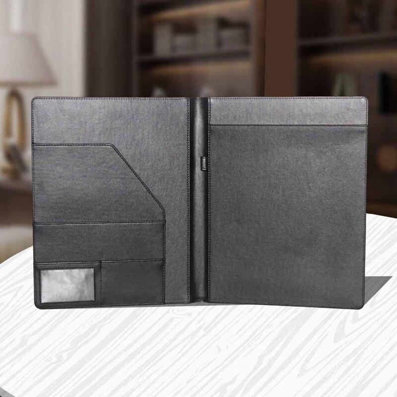 Папка для бумаг формата А4, складной офисный держатель для документов, папка-зажим для документов, доска черного цвета для школы и офиса