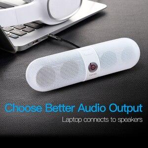 Image 5 - Mukavele 3.5mm Jack ses kablosu Jack 3.5mm erkek erkek ses Aux kablosu Samsung S10 araba kulaklık hoparlör tel hattı Aux kablosu