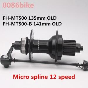 Mountain bike 12S MT500 Freehub Micro Spline Quick release HUB OLD 135mm FH-MT500 141mm FH-MT500-B QR 12 speed hubs
