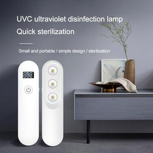 2020 ультрафиолетовая стерилизация лампа UVC портативная для взрослых детская дезинфекция лампа-палочка перезаряжаемый таймер стерилизация ...