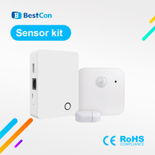 2020 New Coming Broadlink BestCon Sensor Kit Wireless Alarm&Security Set For Smart Home IOS Android Phone Remote Control
