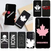 Italy brand maple leaf dsquared2 Phone Case Cover for Huawei P40 P30 P20 lite Pro Mate 20 Pro P Smart 2019 prime(China)