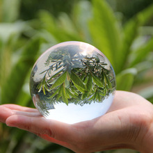 Glass-Lens Figurine Globe Crystal-Ball Decoration Paperweight Sphere-Photography-Props