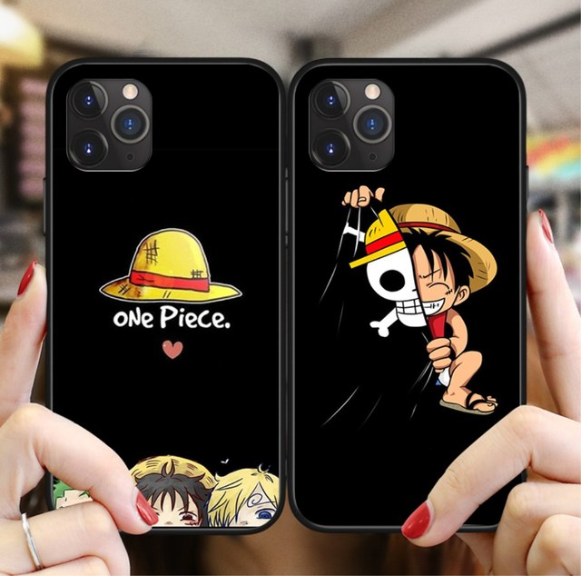 ONE PIECE Phone Case Anime Luffy Zoro For iphone