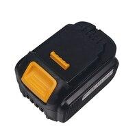 Batería de repuesto para taladro eléctrico dyson BoschElectric, destornillador DCB134 DCB140 DCB204 DCB205 DCB200, 14,4 V, 4000mah, color negro