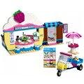 Новинка 2019 340 шт Оливия кекс кафе строительные блоки кирпичи совместимые с друзьями 41366 игрушки для детей Рождественский подарок