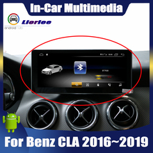 """10,25 """"Android дисплей для Mercedes Benz CLA Class C117 2016 ~ 2019, сенсорный экран, Автомобильная GPS навигация, стерео радио, мультимедийный плеер"""