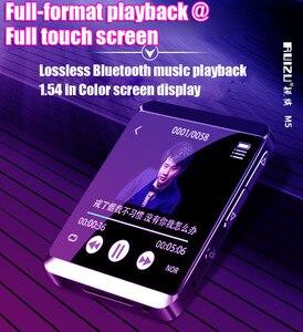 Image 2 - RUIZU M5 フルタッチスクリーンポータブル MP3 プレーヤー 8 ギガバイト/16 ギガバイトスポーツ Bluetooth MP3 プレーヤーサポート FM 、録音、電子書籍、時計、歩数計