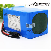 AERDU 7S4P 24V 10Ah 20A BMS 450watt 29.4V 25.9V Li-ion Battery Pack Electric Unicycles moped ebike Scooters light bicycle power
