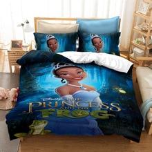 Disney Animation Aladin Magic Lamp Jasmine Pattern 3D Bedding Set Duvet Cover Pillowcase Suitable for Girls Bedroom Decoration