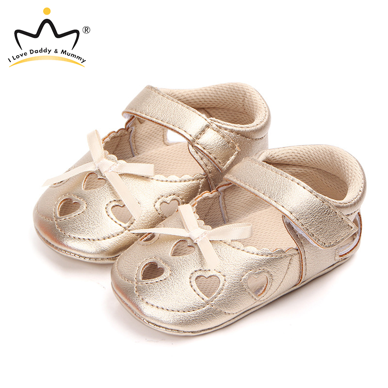 New Chindren Sandals Cute Bowknot Soft Cotton Baby Sandasl Summer Baby Girl Sandals Leather Girls Shoes