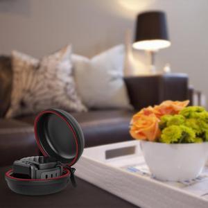Image 3 - 여행 휴대용 충전기 충전 홀더 도크 스토리지 박스 애플 시계 시리즈 5/4/3/2/1 방진 지퍼 케이스 Airpods 1 2