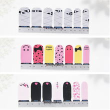 Nail Art Adhesive Sticker Christmas DIY Flower Manicure Snowflake Shiny Sequins Polish Strips Wraps
