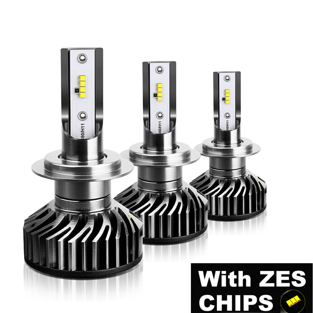 12V H4 H8 H9 H1 H11 9005 HB3 HB4 9006 <font><b>LED</b></font> bulb <font><b>mini</b></font> <font><b>h7</b></font> <font><b>led</b></font> <font><b>canbus</b></font> Auto car headlight lamp Headlamp 12000LM 100W With ZES beads image