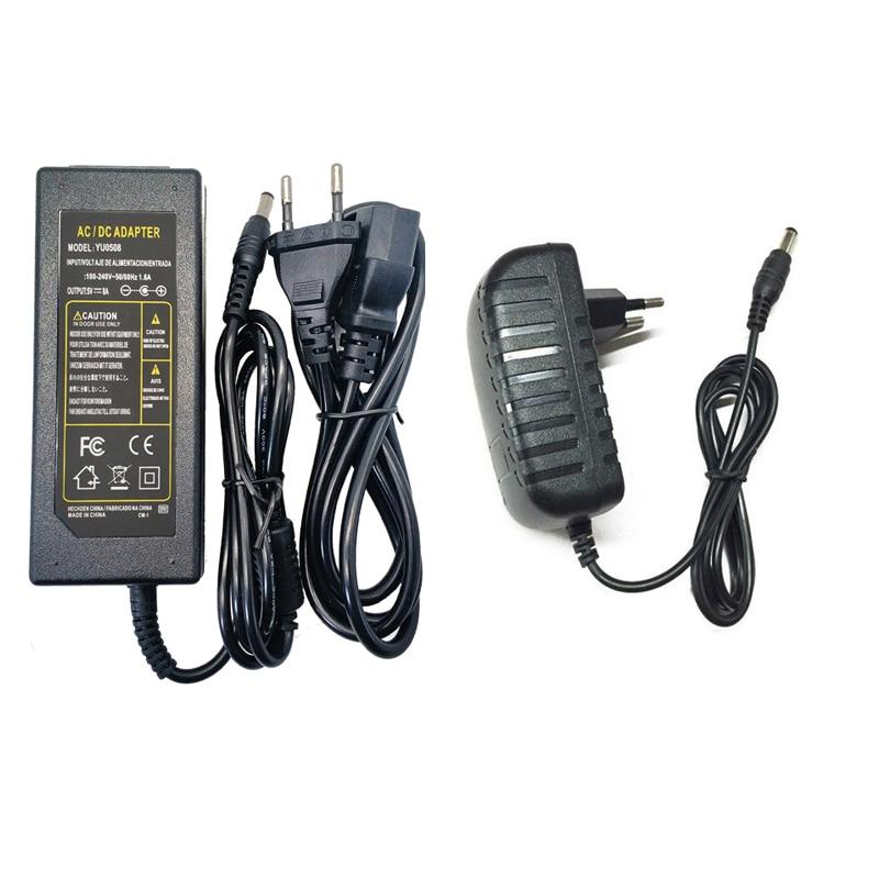 Adaptador de fuente de alimentación de 220V a 12 V, transformador Led, controlador de fuente de alimentación, AC DC 12 V voltios 1A 2A 3A 4A 5A 6A 8A 10A