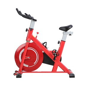 Image 2 - エアロバイク家庭用超静音屋内減量ペダルエアロバイクを回転自転車フィットネス機器
