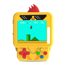 99 in 1 Games Mini Retro Chicken Handheld Game Console Backpack Pendant Chicken Jewelry Pendant RPG/ACT/AVG Boy Gift