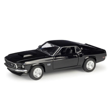 цены About 19CM 1/24 Scale Metal Alloy Classic Car Diecast Model 1969 Ford Mustang Boss 429 Toy Welly Collecection Toy for Kids Child