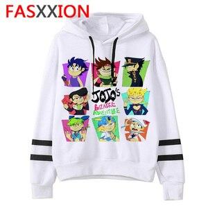 JoJo Bizarre Adventure hoodie Anime men/