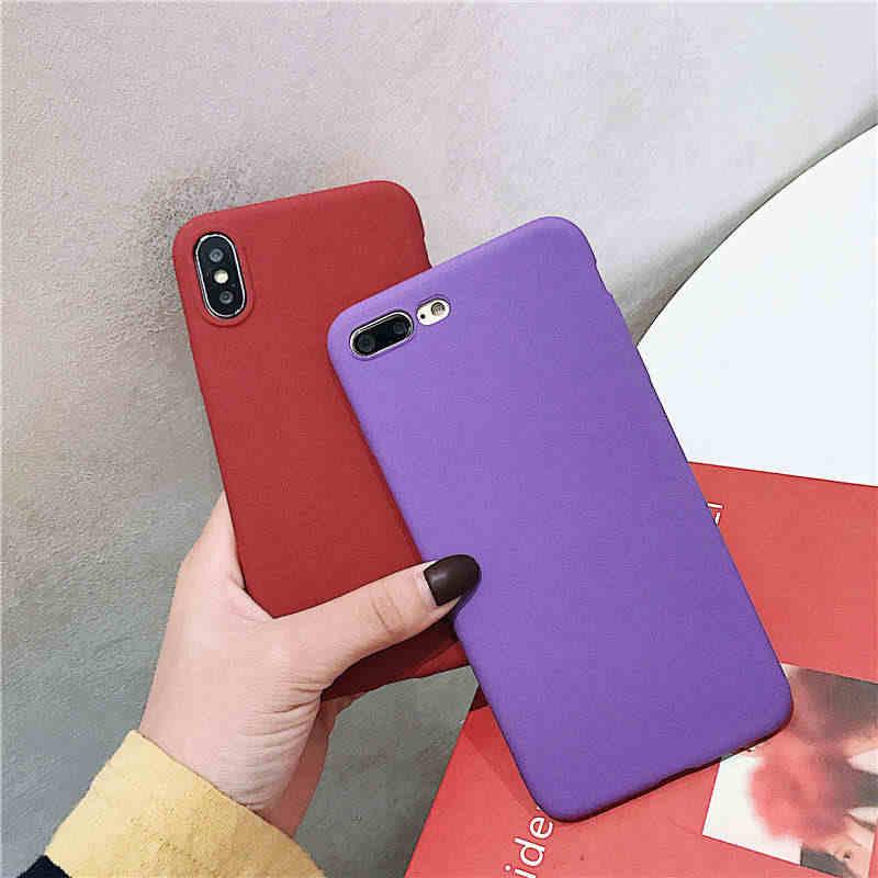 Lembut Silicone Matte Phone Case untuk Meizu M6T PRO 6 7 15 16 Plus M3 M5 M6 Catatan M5S MX5 MX6 M6S M15 Catatan 9 16X Back Cover Coque
