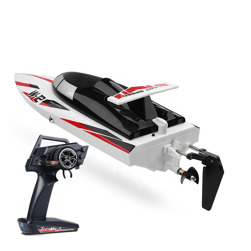 Radio Control RC Remote Control Boat Speedboat RC Boat 2.4G 120M 40KM/H Extreme Speed Overturn Reset 46CM Big Racing RC Boat Toy