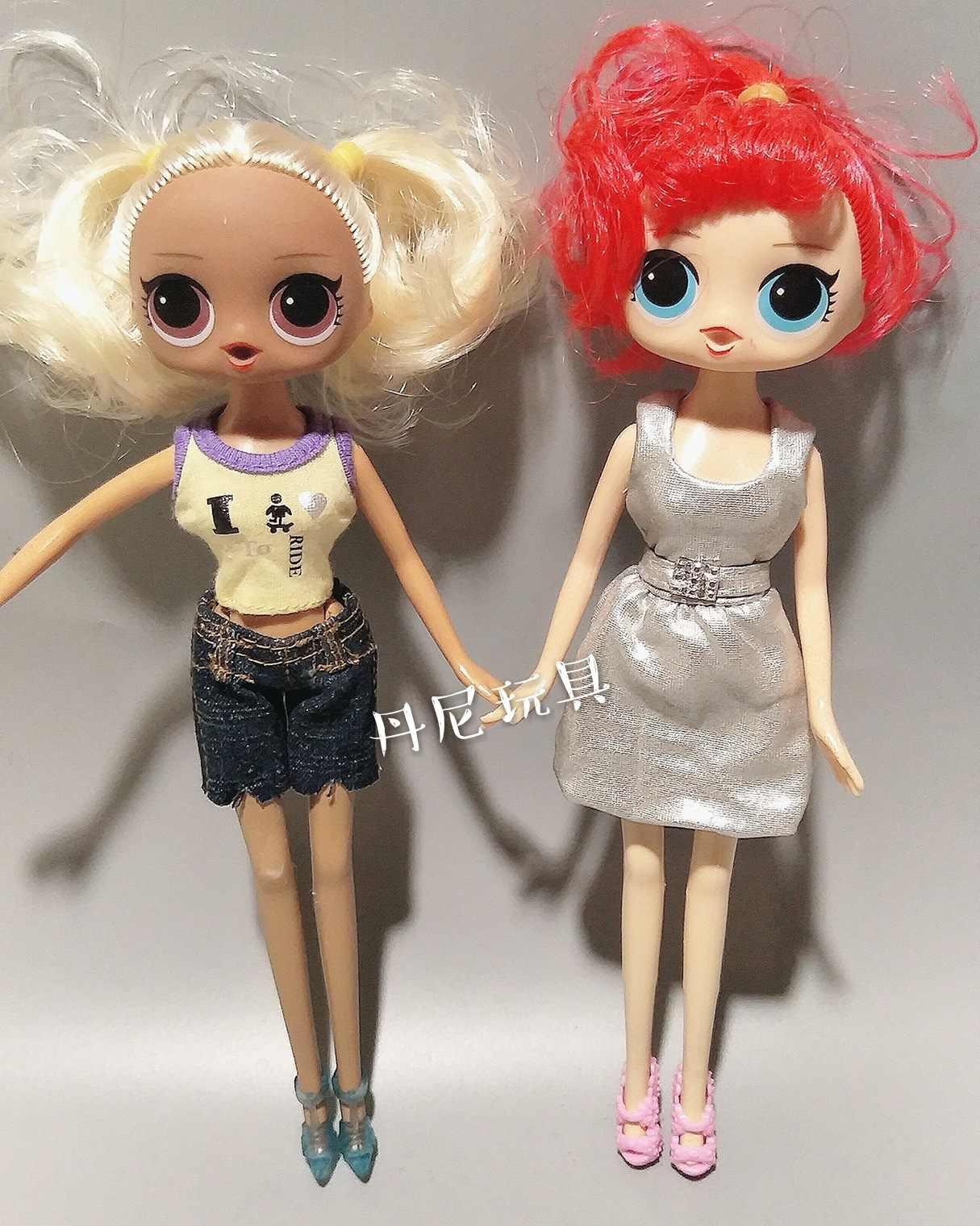 Sorpresa Bambola Lol Sostituibile Bambola DELLA RAGAZZA della Bambola del Giocattolo della Casa del Gioco Sostituibile Giunti Bambola Spostare Bambola