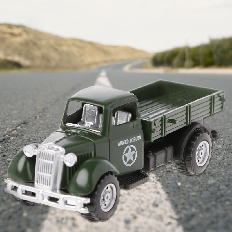 Operation Van Vintage Vehicles Model Kids Playing Car Toy Roleplay Action