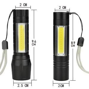 Image 5 - 8000Lumens COB LED Flashlight Super Bright Waterproof Handheld Flashlights Torch Lantern Work Light for Emergency Lighting