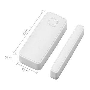 Image 3 - Tuya smartlife WIFI kapı/pencere dedektörü WiFi App bildirim uyarıları güvenlik sensörü desteği alexa google ev gerek yok hub