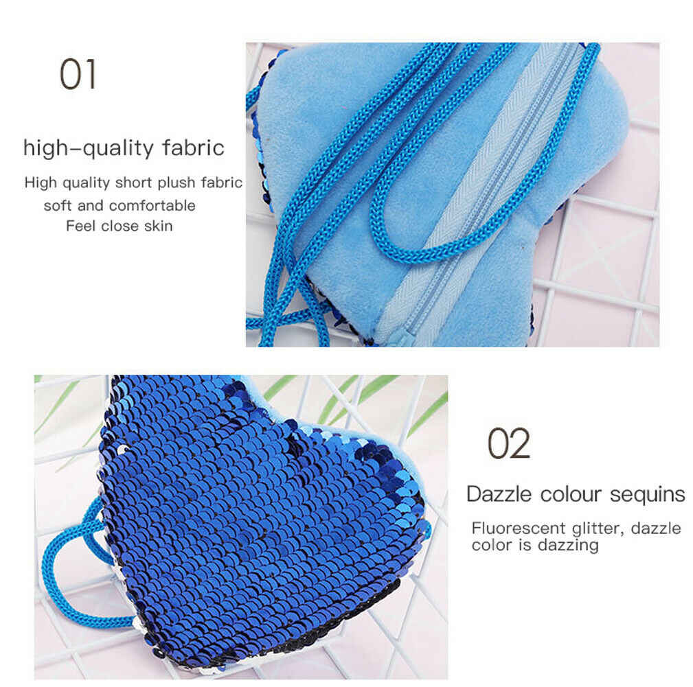 2019 accesorios para bebés señoras niñas corazón monedero bolsa Linda lentejuelas pequeño bolso de mano de moda monedero Niños Accesorios regalos