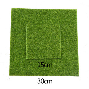 Image 5 - Artificial Moss Turf Lawns Green Plants DIY Micro Landscape Decoration Fake Grass Lawn for Home Mini Garden Floor Accessories